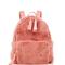 Baby pink mink backpack by nancy gonzalez | moda operandi