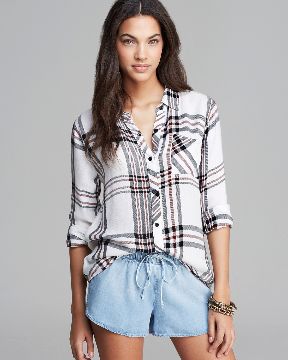Rails Shirt - Hunter Plaid | Bloomingdale's