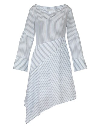 dress white blue