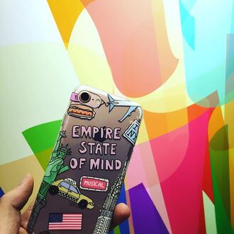 phone cover yeah bunny phone empire new york city clear