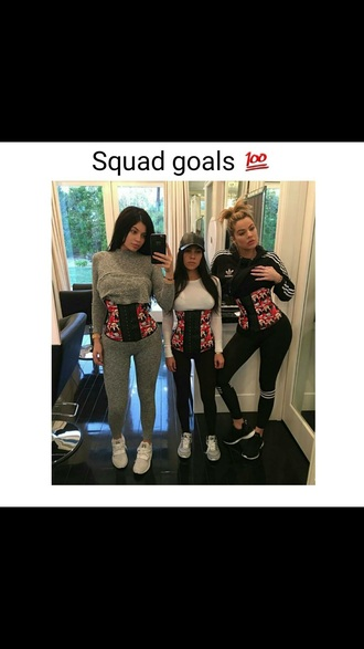 belt waist trainer kylie jenner kardashians