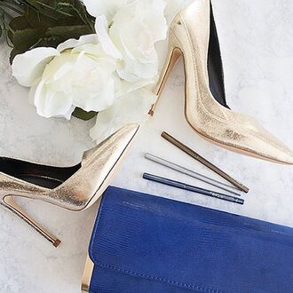 shoes gold heels heel single sole single sole heels metallic silver pewter black pumps pointy toe heels pointed toe gojane