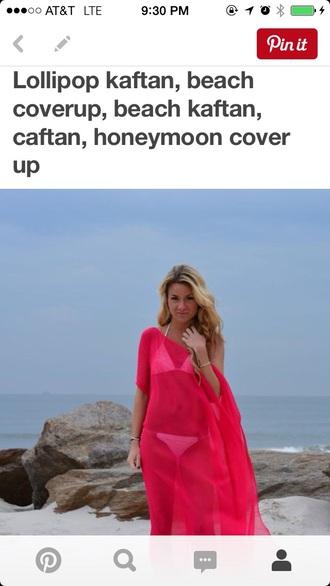 dress kaftan beach cover up maxi