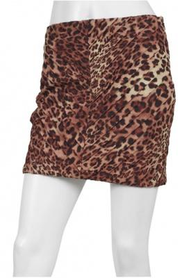 Torn by ronny kobo > torn by ronny kobo sonia pleated cheetah skirt in brown @ singer22.com