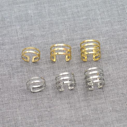 Lined up ring set