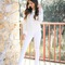 Winter whites and metallic accents | e's life & style