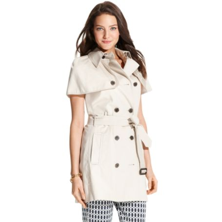 Sleeveless Trench | Tommy Hilfiger USA