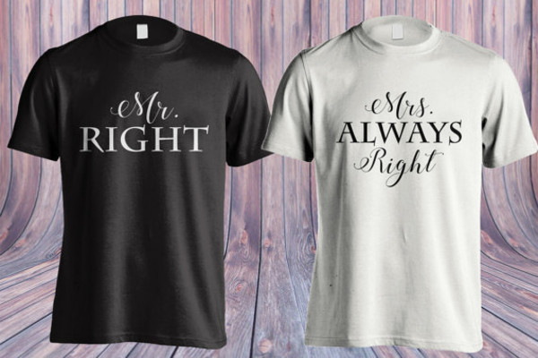 t-shirt mr and mrs sweatshirts mr and mers mr right mrs always right his and hers shirts matching couples matching couples couple t-shirts couples shirt valentines day gift idea valentines day valentine's day love cute cute outfits gift ideas holiday gift gifts for him anniversary gifts for her