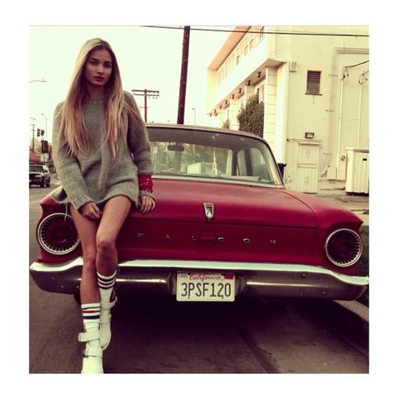 grey knitted car perfect pia mia perez