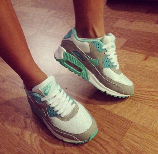 air max mint and grey