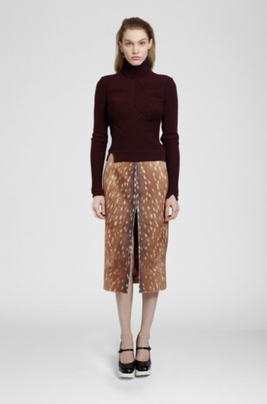carven lookbook fashion skirt