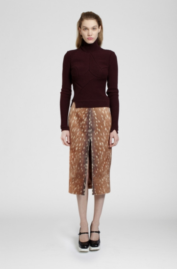 skirt lookbook fashion carven