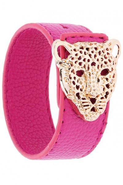 KCLOTH Gold Leopard Head Bracelet