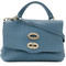 Zanellato - baby cachemire blandine tote - women - leather - one size, blue, leather