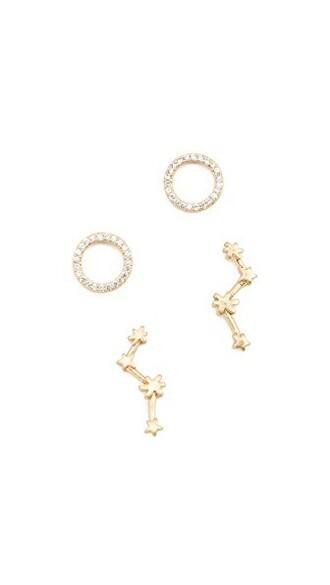 earrings stud earrings vintage gold jewels