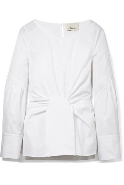3.1 Phillip Lim top white cotton