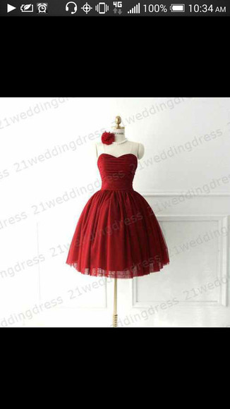 dress sweetheart neckline homecoming red dress strapless red dress formal event cheap prom dresses