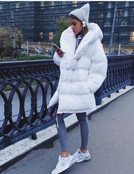 Jacket Tu Jacker Down Jacket White Faux Fur Faux Fur Jacket