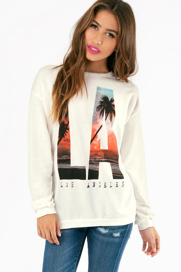 LA Palms Sweatshirt  - Tobi
