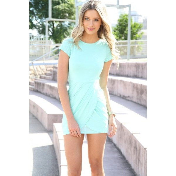 SABO SKIRT Madonna Dress - Mint - $58.00 - Polyvore