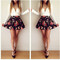 Floral print couture dress – dream closet couture