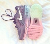 nike,purple,nike shoes,nike running shoes,nike roshe run,colorful,colorful nikes,sports shoes,sportswear,shoes,nike airmax2013,air max,running,nike air,nike sneakers,swag,rosy,purple shoes,turquoise,green,mint,hipster,hippie,clothes,neon,running trainers,trainers,rainbow,cute,galaxy print,nike free run,blue,pink,tuquoise,lovely,nike run free,fitness,sneakers,running shoes,nike air force,90,bunt,glitter shoes,beautiful,sweater,colored fun in love,fly,knit,2014,rainbow sole,shoes black wedges,ombre,runningshoes,grey shoes,gray nike,rainbow nikes,grey,collor,purple sweater,cute  outfits,celebrity style,fadhion,nike air max 90 floral,nine pastel,run,belt,pastel,glitter,white,socks,nike running shoes pink blue