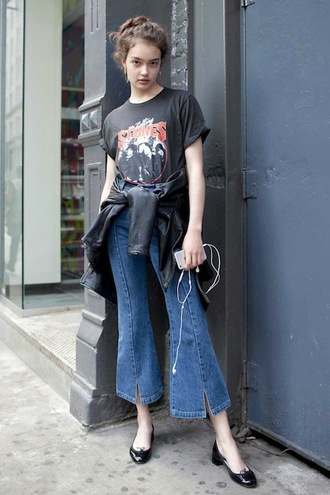 theyallhateus le fashion blogger jewels shirt jacket jeans