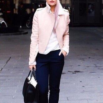 coat warm coat fur coat pink winter coat short coat fur short coat