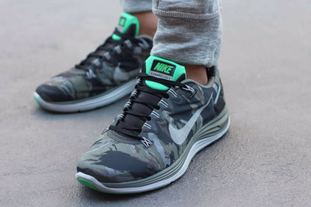 shoes nike lunarglide camo