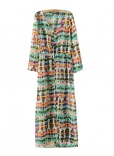 Tie Dye Beach Cover Dress - Dresses - Clothing