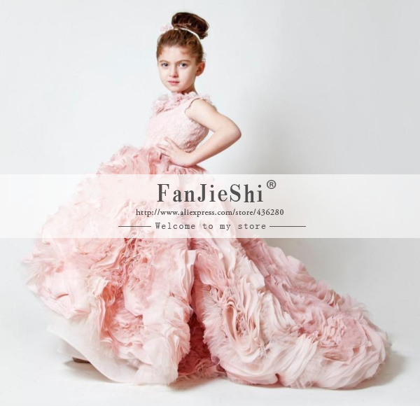 Aliexpress.com : buy 2015 new design custom made girl pageant dresses floor length cap sleeve scoop neckline appliques ball gown flower girl dresses from reliable dress street suppliers on suzhou fanjieshi wedding dress co., ltd.