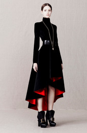 dress,fashion,lookbook,alexander mcqueen
