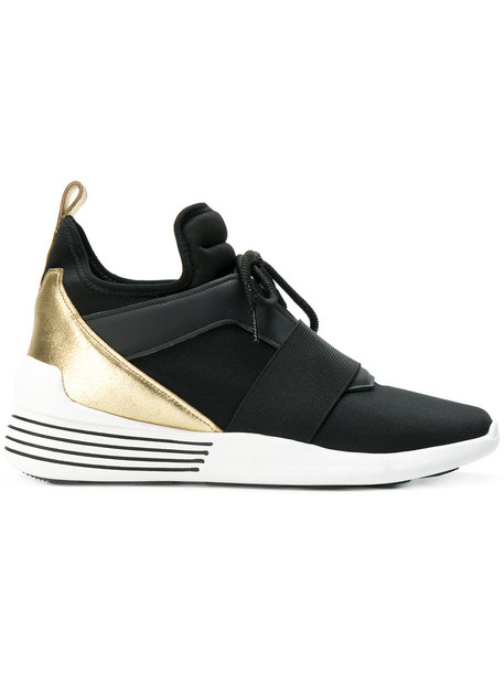 Kendall+Kylie Kendall+Kylie - Braydin sneakers - women - Suede/Polyester/rubber - 40, Black, Suede/Polyester/rubber