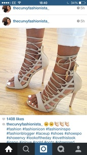 shoes,nude high heels,strappy heels,gold
