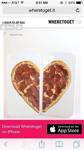 phone cover iphone case food