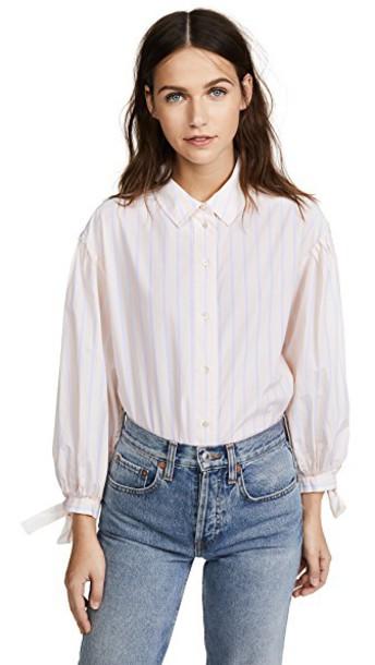 FRAME shirt light pink light pink top