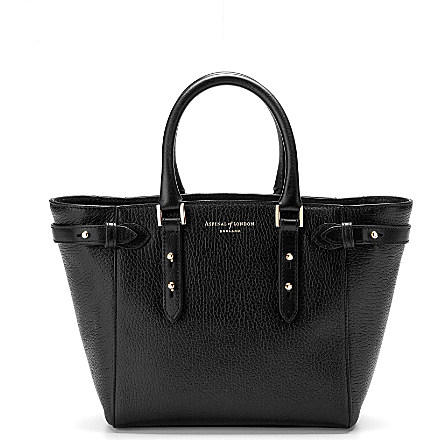 ASPINAL OF LONDON - Marylebone mini leather tote | Selfridges.com