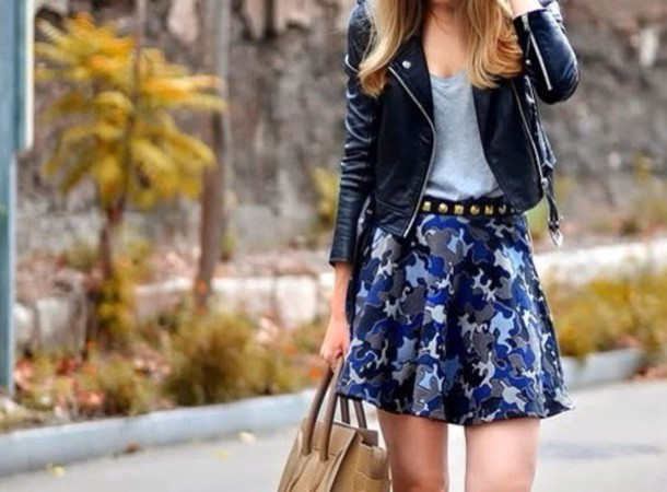 skirt top jacket