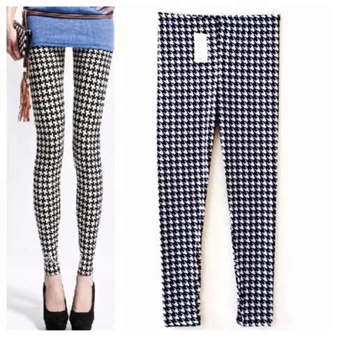 Retro plaid legging from doublelw on storenvy