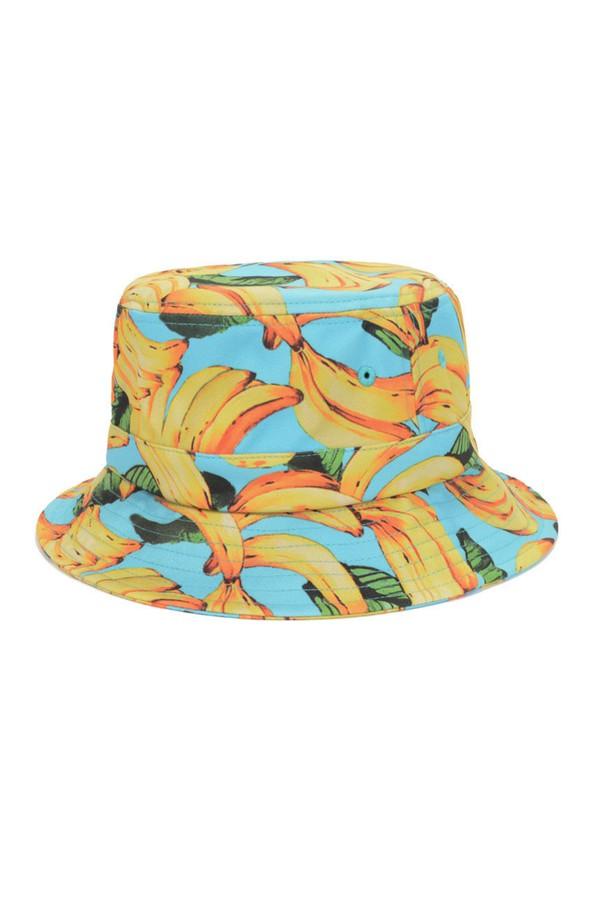 justvu.com bucket hat banana print streetwear urban streetwear streetstyle
