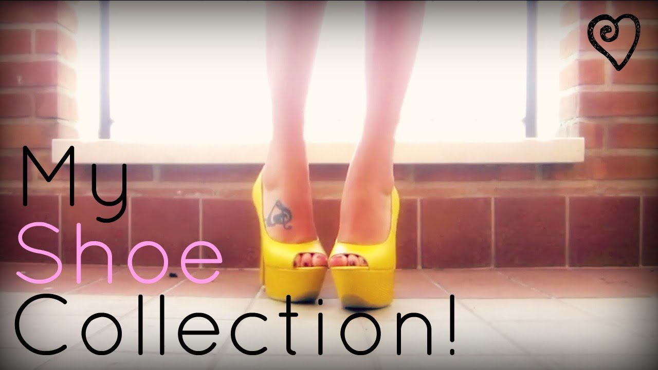 My Shoe Collection! ♥ - YouTube
