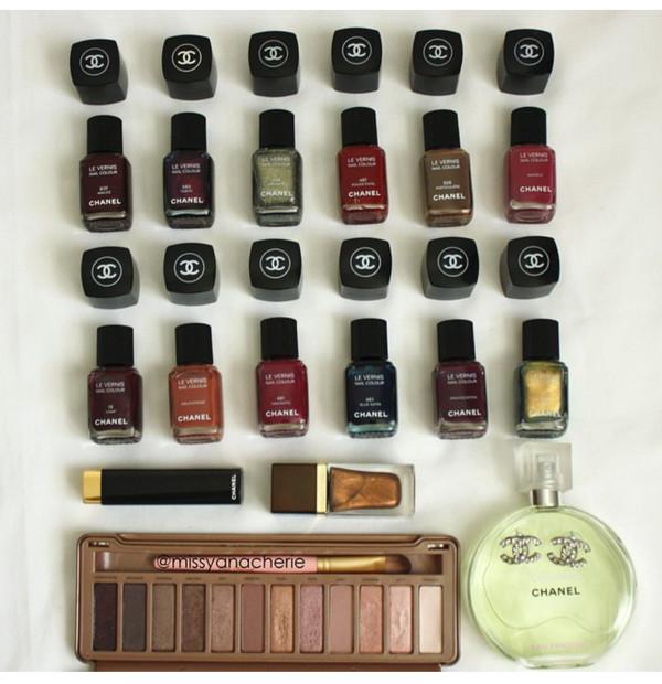 nail polish lipstick cosmetics