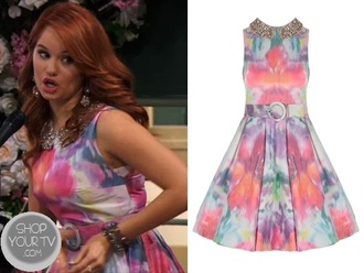 dress debby ryan jessie disney hannel colorful
