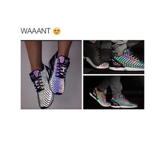 shoes adidas adidas shoes rainbow tumblr shoes