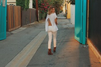 ashlee frazier blogger shirt pants shoes jewels