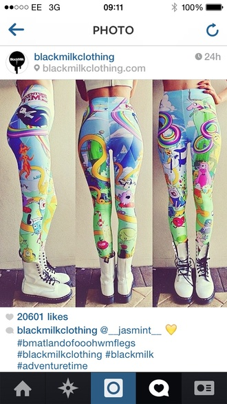 leggings adventure time adventure time leggings