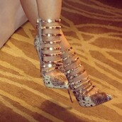 shoes,bad,pumps,gator,snake print,high heels,strappy black heels,strappy sandals,heels,nude high heels,nude pumps,animal print high heels,sexy shoes,sexy,sexy high heels,shopaholic,gold,snake skin,high,booties,strappy,gold plated shoe,pointed toe heels,designer,style,snake shoes