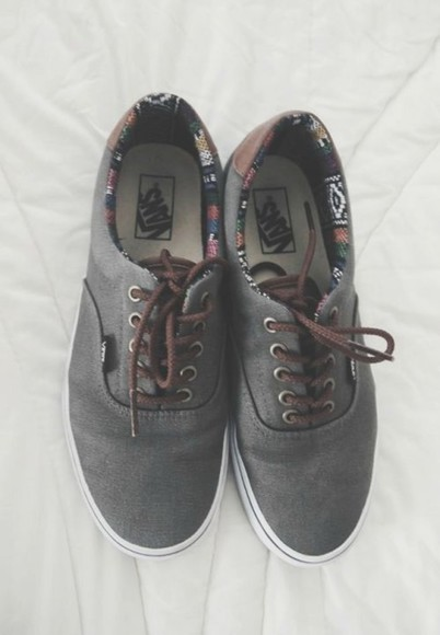 shoes vans vans authentic printed vans
