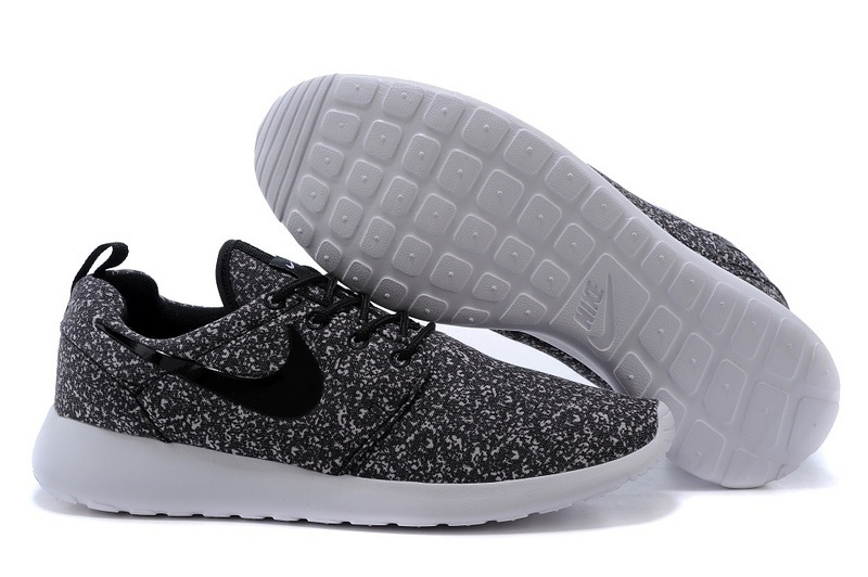 Grey And White Speckle Womens Walking Shoes