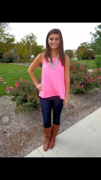 pants shirt top cute top cute shirt cute outfits style pink girly back to school fashion jewels
